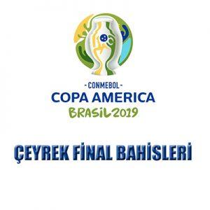 copa america 2019 çeyrek final maçlarının bahis yorumlarını yazımızda bulabilirsiniz.