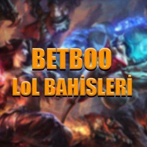 Betboo bahis sitesinde LoL bahisleri nasıl yapılır ?