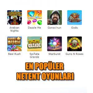 en popüler ve en çok kazandıran netent oyunlarını sizler için hazırladık.
