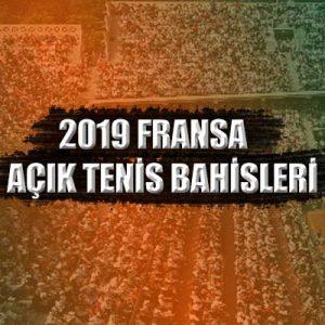 2019 fransa açık tenis turnuvasının bahis tahminlerini yazımızda bulabilirsiniz.