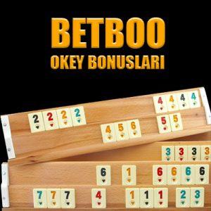 Betboo okey bonusları